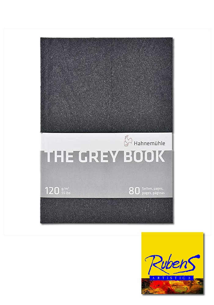 BLOCK Hahnemuhle THE GREY BOOK A5 120g 80 hojas