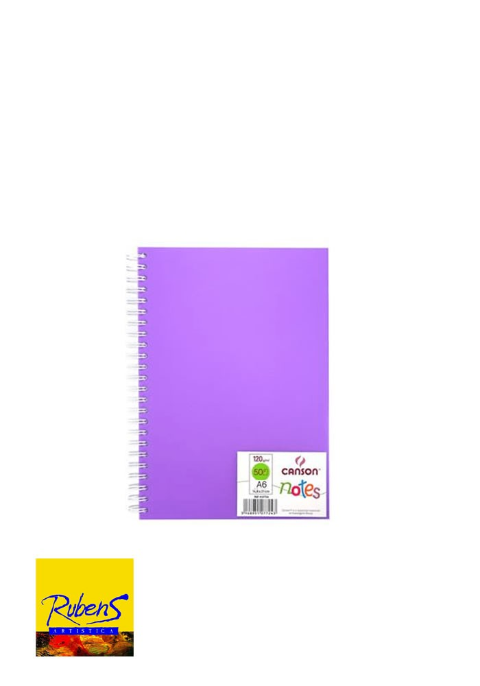 BLOCK CANSON NOTES A6 120grs VIOLETA