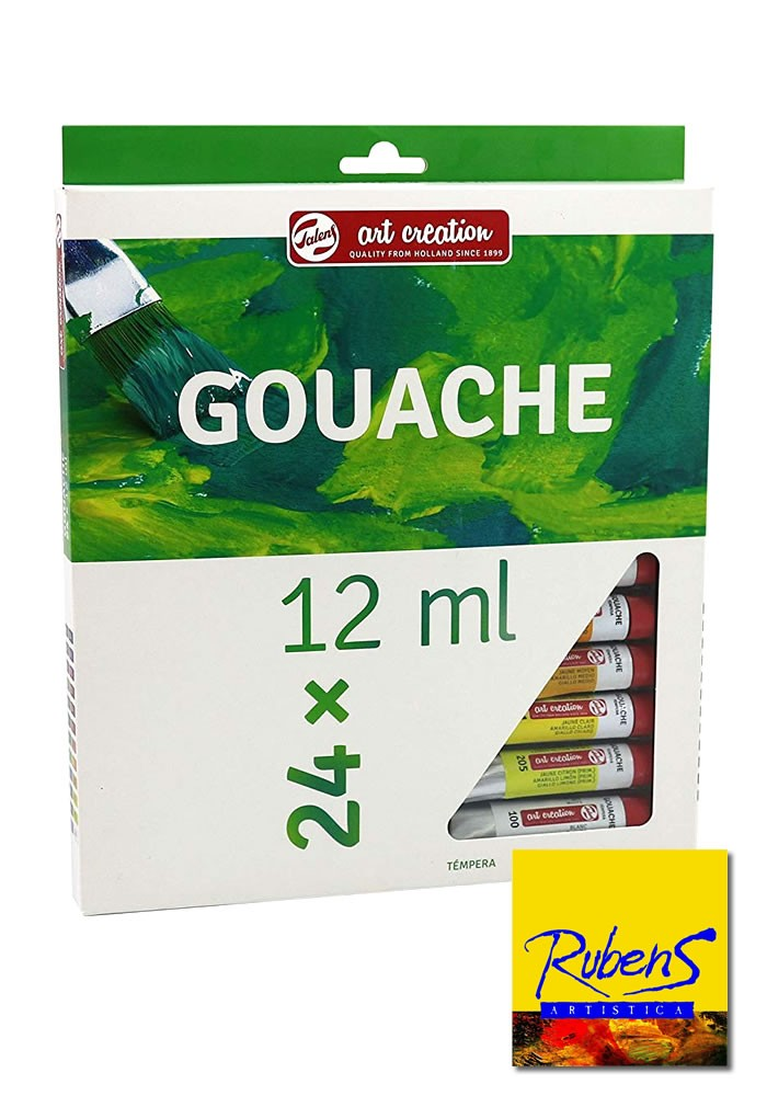 SET GOUACHE TALENS Art Creation x 24 x 12ml